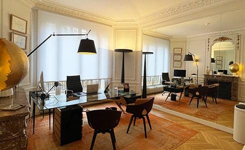 Le cabinet du docteur Koutsomanis à Paris